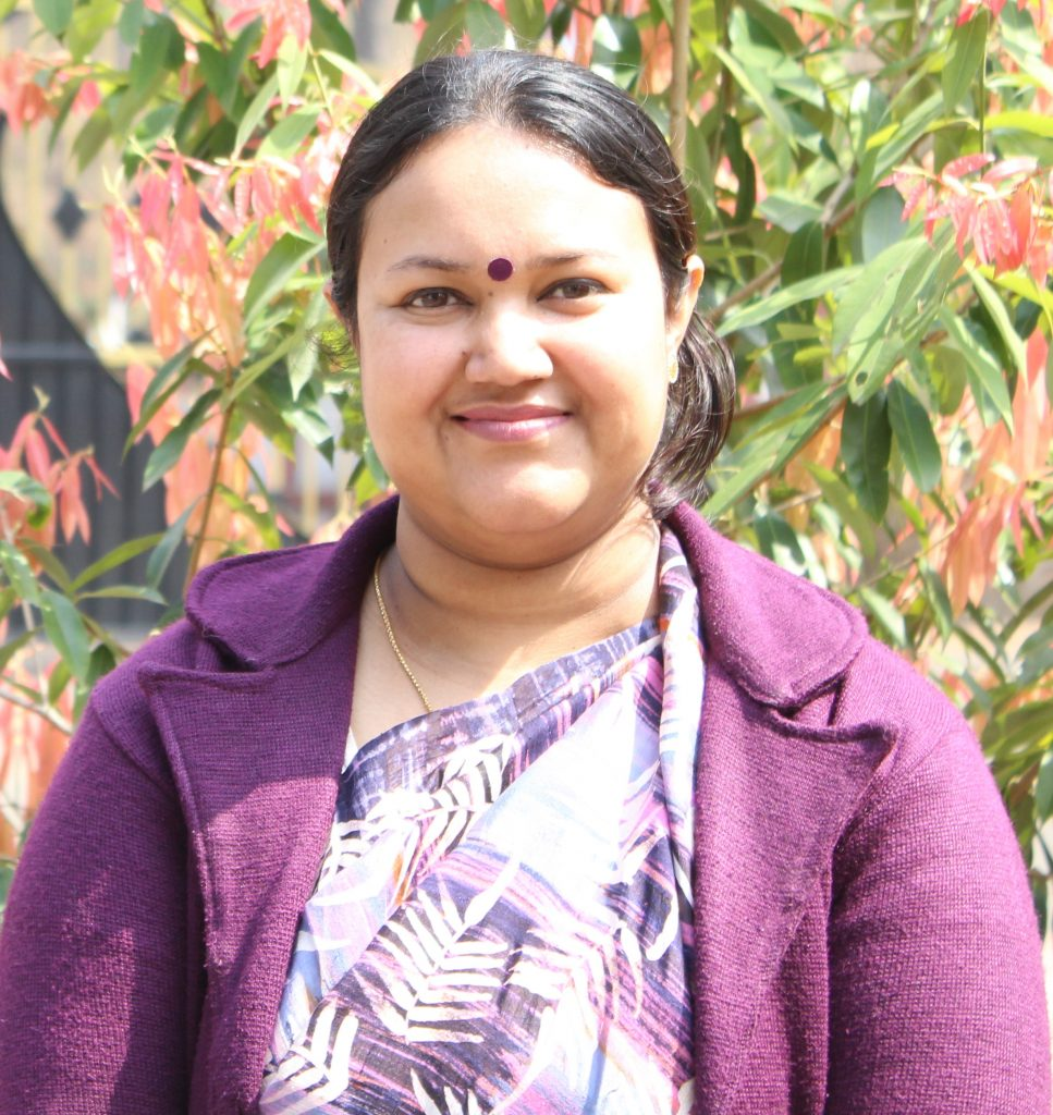 Dr. Mousumi G. Banerjee <br/> <sup>Associate Professor and HoD, English Literature</sup>